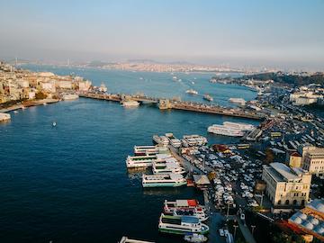 Istanbul harbour