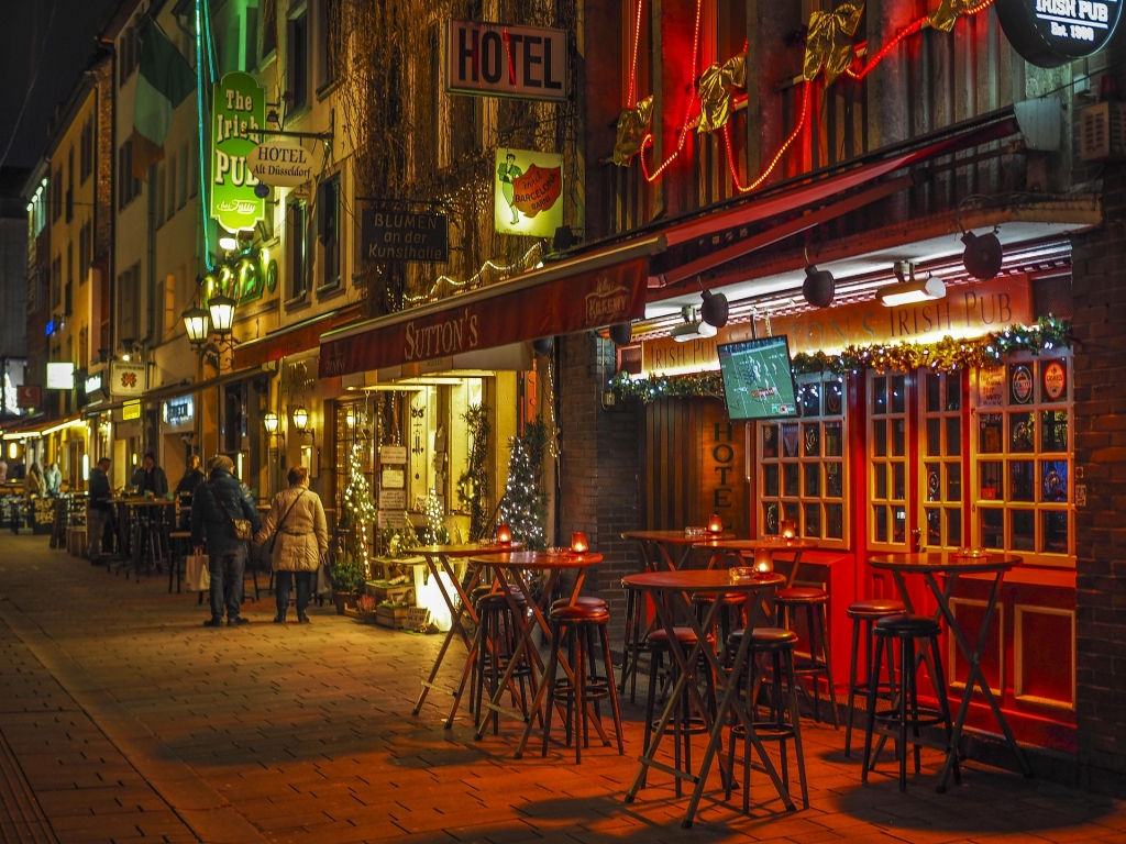 Sightseeing Düsseldorf - Oldtown